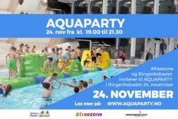 Aquaparty 24. november